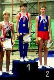Александр неоднократный призёр всероссийских соревнований в прыжках на батуте, АКД и ДМТ