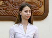 Екатерина Огурцова-лауреат премии