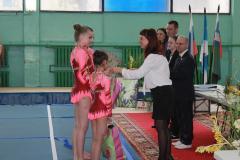 чествование победителей первенства России среди женских групп