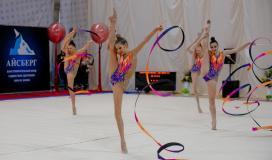 команда Белгородской области в групповых упражнениях