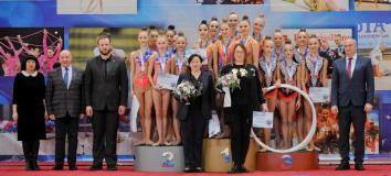 команда  групповичек-серебряные призёры первенства ЦФО РФ