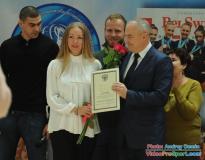 тренеру Варламовой О.Г.вручена Благодарность Министра спорта